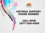 Hotmail Support Phone Number  ☎ 1877-269-4999