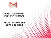 Gmail Customer Helpline Number  ☎ 1877-323-8313