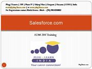 Salesforce Traning - ADM 201