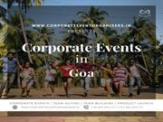 Corporate Offsite Tours in Goa | Corporate Team Outing in Goa