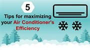 5 Tips for maximizing your Air Conditioner's Efficiency