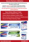 Secure Denture Adhesive and Denture Cream Products