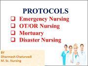 disaster management and triage