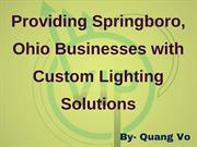 Quang Vo - Ohio Businesses with Custom Lighting Solutions