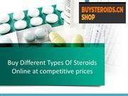 Buy Different Types Of Steroids Online at competitive prices