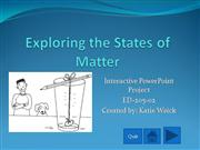 Interactive PPt Project