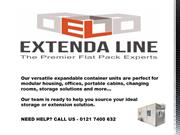 Flat pack storage containers | Extandaline - New Flat Containers