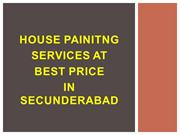 House painting services at best price in Secunderabad