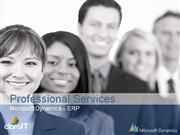 Microsoft Dynamics AX Professional Services CLAROIT