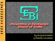 SEBI Guidelines Assignment