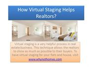 How Virtual Staging Helps Realtors