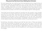 Fifty percent Up Fifty Percent Down Wedding Event