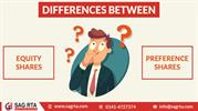 Differences Between Equity Shares and Preference Shares