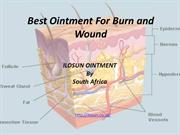 Are Looking For best Ointment for Burn and wound By ILOSUN OINTMENT