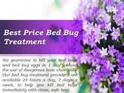 Extremely affordable diy bed bug treatment