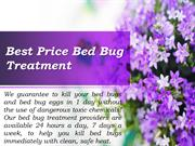 New and most effective bed bug treatment