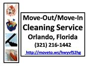 Move-In House Cleaning 321-216-1442
