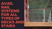 Avail rail systems for all types of decks and stairs