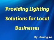 Quang Vo of Ohio - Providing Lighting Solutions for Local Businesses