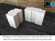 Contact The Best Supplier OfPVC Foam Boards In India