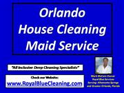 Orlando House Maid Cleaning Service