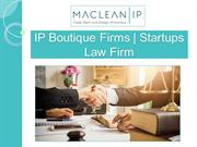 IP Boutique Firms | Startups Law Firm | Maclean IP