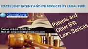Excellent patent and IPR services by Legal firm
