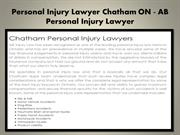 Personal Injury Lawyer Trenton ON