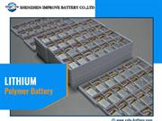 3.7v lithium polymer battery with high performance