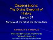 Dispensations 19