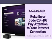 Instant Fix Roku Error Code 014 | Error Code 014 on Roku –Call