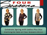 Celebrate Spring with Ladies Plus Size Clothing for Sale at Four Seaso