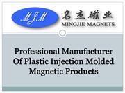 Professional Injection Neodymium Magnet Supplier in China