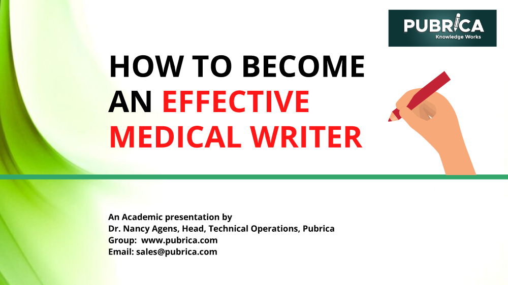 how to become effective writer