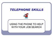 TELEPHONE SKILLS