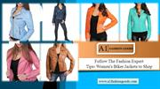 Follow The Fashion Expert Tips- Women's Biker Jackets to Shop