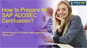 Best Exam Tips for  SAP AUDSEC (C_AUDSEC_731) Certification Exam