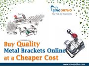 Buy quality metal brackets online at a cheaper cost