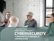 Tonex Cybersecurity Cybersecurity Training and Certification