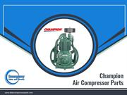 Get Exclusive Champion Air Compressor Parts Now