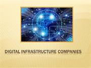 An Overlook Of Strategies Used By Digital Infrastructure Companies