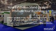 Nucleus Exhibitions- Exhibition Stand Design Company in Dubai, UAE