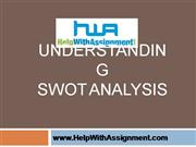 SWOT Anlaysis-HelpWIthAssignment