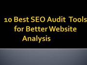 10 Best SEO Audit  Tools for Better Website Analysis