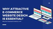Why You Should Have Stunning Website Design for your eCommerce Store?