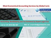 Most Economical Accounting Services by Global Jurix