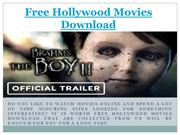 Latest HD Free Hollywood Movies Download Online