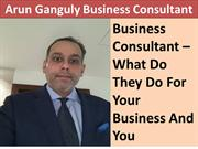 Business Consultant What Do They Do For Your Business And You