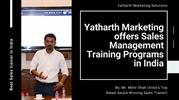 Yatharth Marketing offers Sales Management Training Programs in India