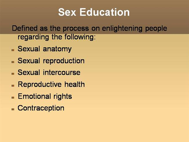 Sexual health powerpoint presentation